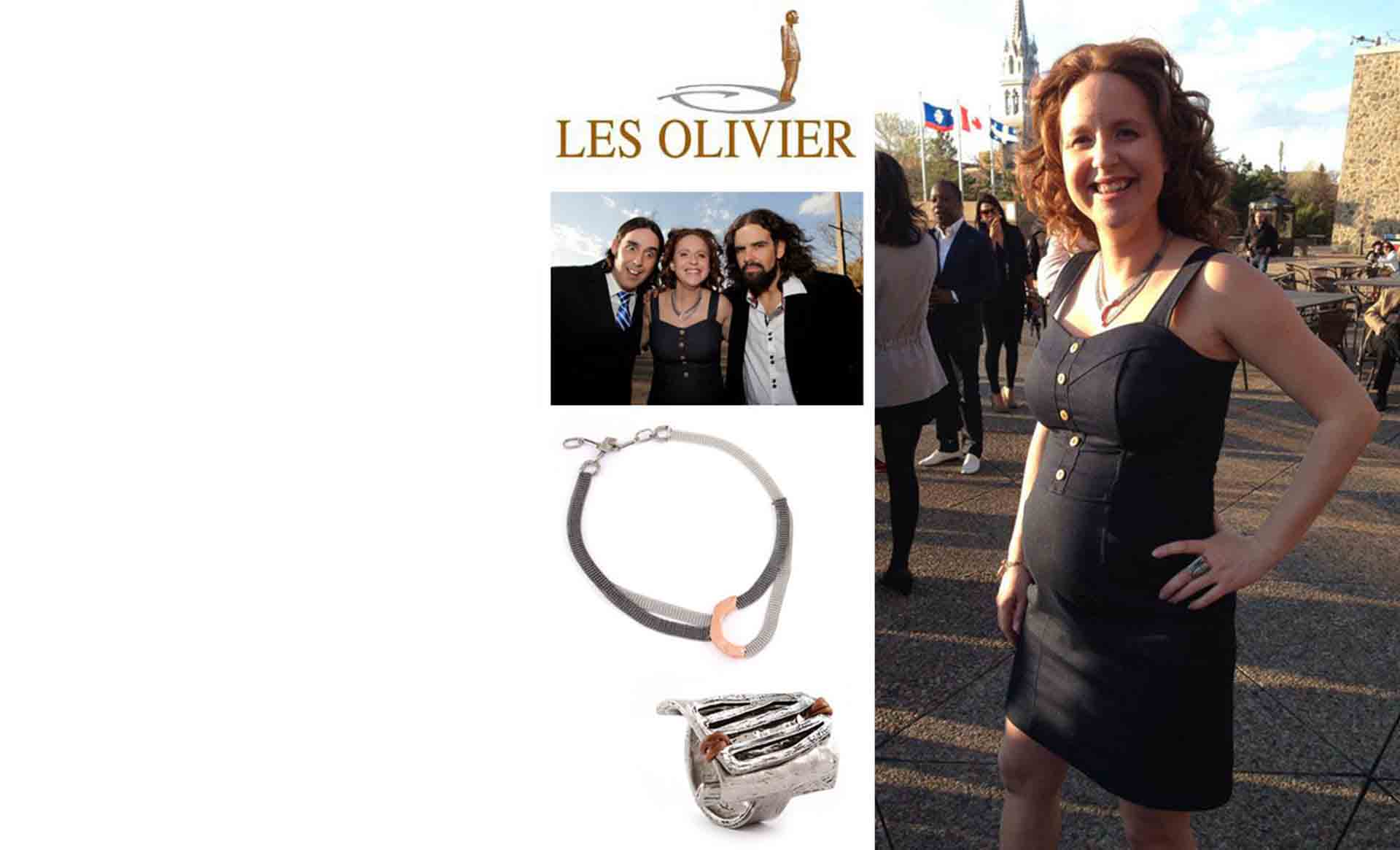 "Silvi Tourigny was wearing LUV Collection at the ""Gala des Oliviers"""