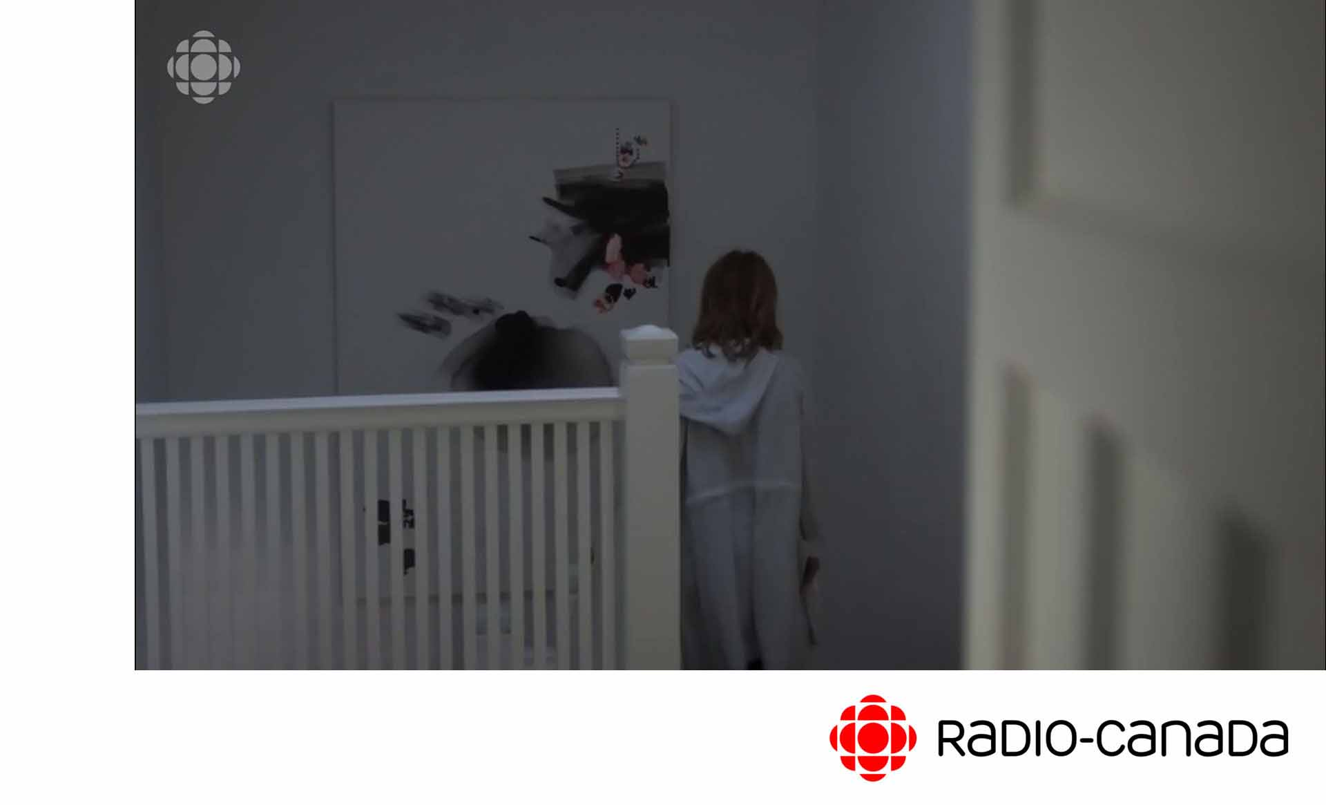 A painting by Anne-Marie Chagnon on TV – Ruptures aired on Radio-Canada