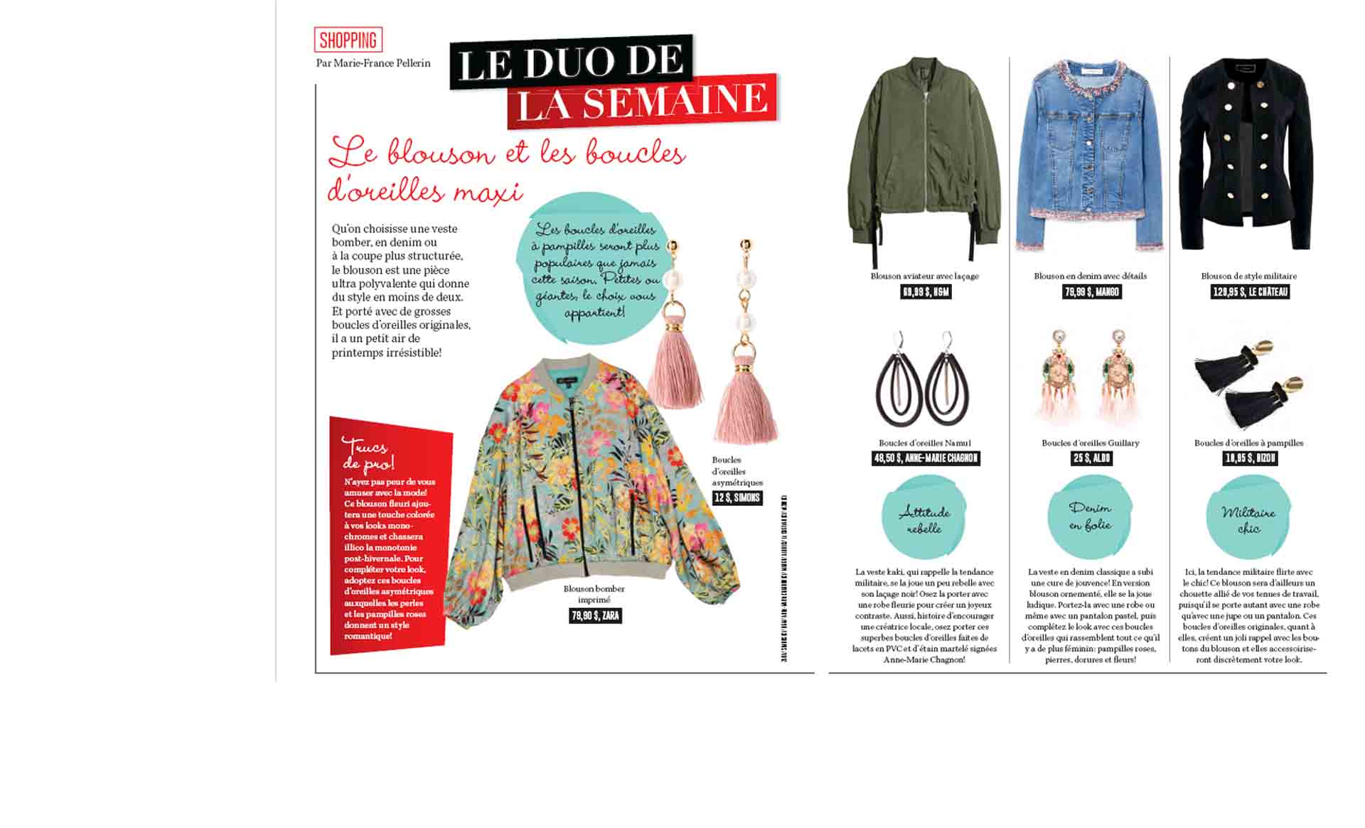 Namul earrings for a rock style – La semaine magazine