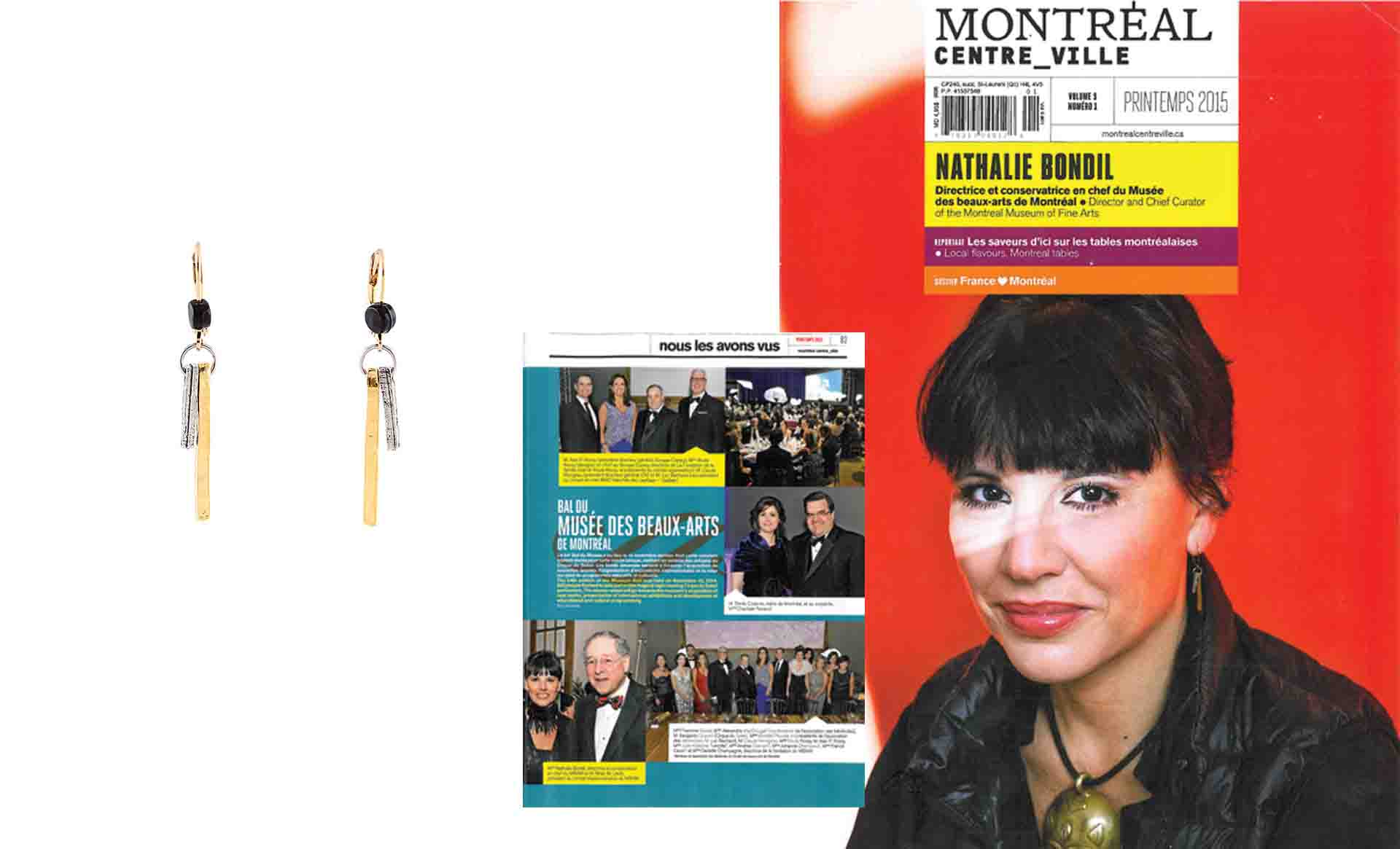 Nathalie Bondil chooses Anne-Marie Chagnon jewellery