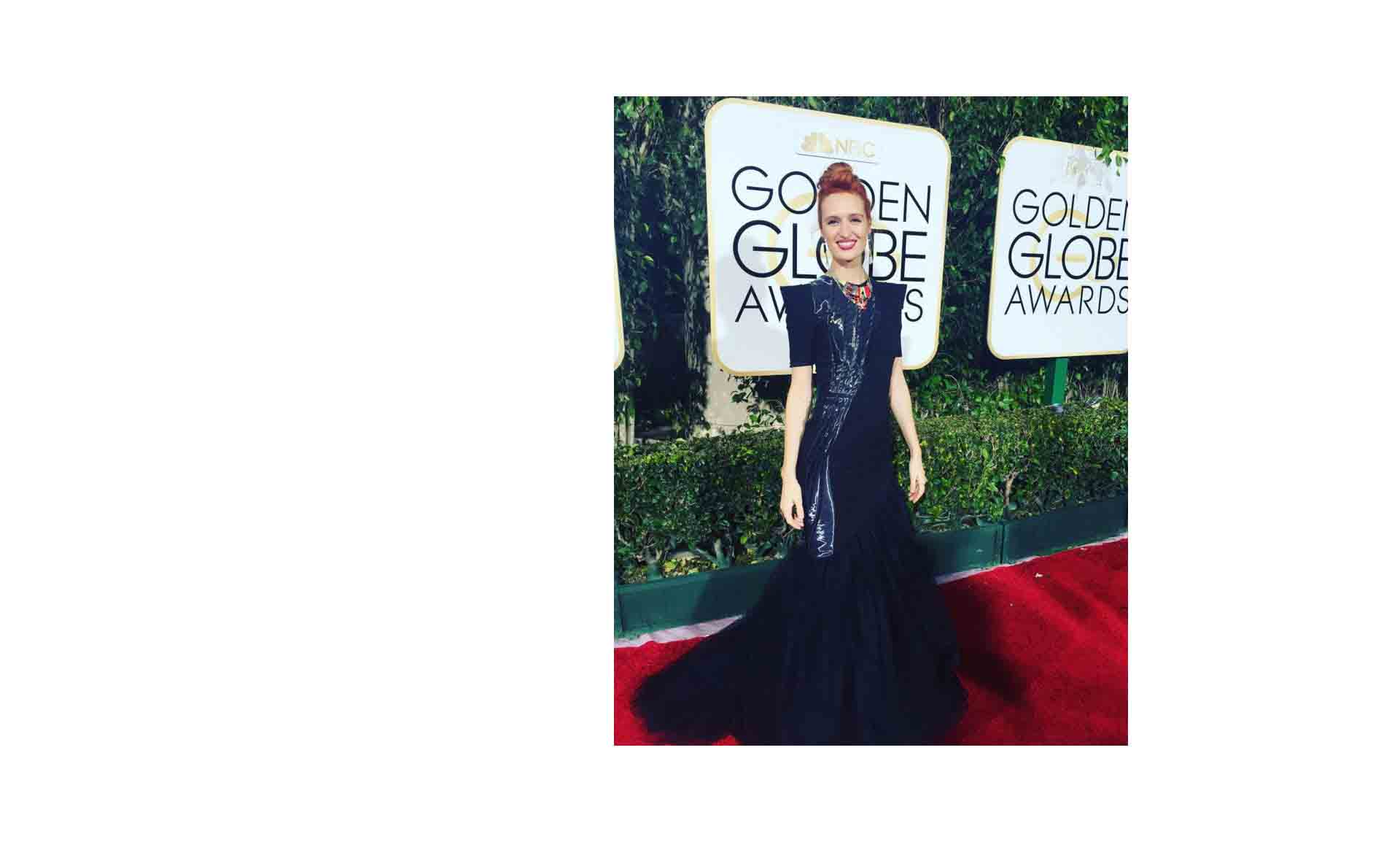 Breeda Wool aux Golden Globes
